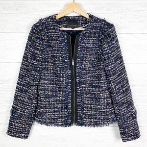 Banana Republic • Blue Tweed Jacket Blazer